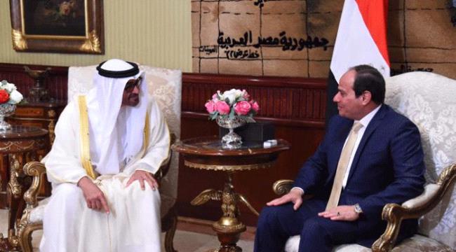 """السيسي مهنئا الإمارات بـ""""براكة"""": تجسيد لحلم العرب المنشود"""