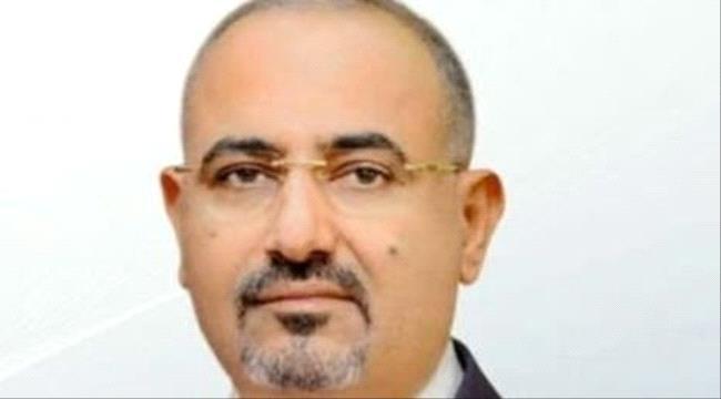 """قناة الحدث:المجلس الإنتقالي ممثلاً برئيسه """"الزبيدي"""" يُثمن جهود السعودية ويرفض اي تدخلات معادية للمشروع العربي الذي يقوه التحالف في اليمن"""